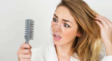 Treating hair problems with ginger